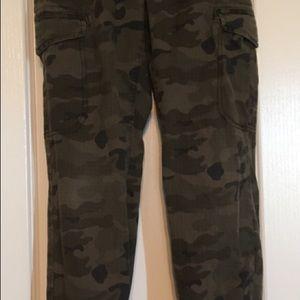 Cargo Camouflage pants